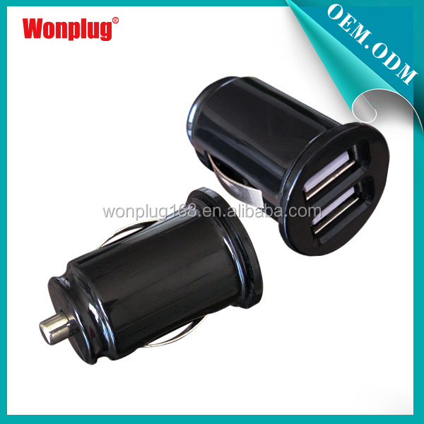 2014 China bestex high quality dual usb port car charger