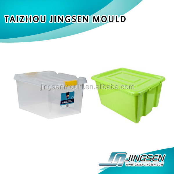 Customized Clothing storage bins plastic injection storage box mould/plastic moldings for storage box,plastic molding service