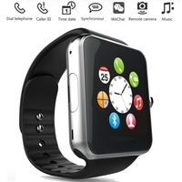 TC066 Bluetooth NFC Waterproof Smart Watch Phone Mate For Android & IOS Push Message SIM TF Card Pedometer Sleep Monitoring