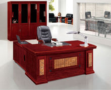 Laminate office furniture standing L shaped office desk