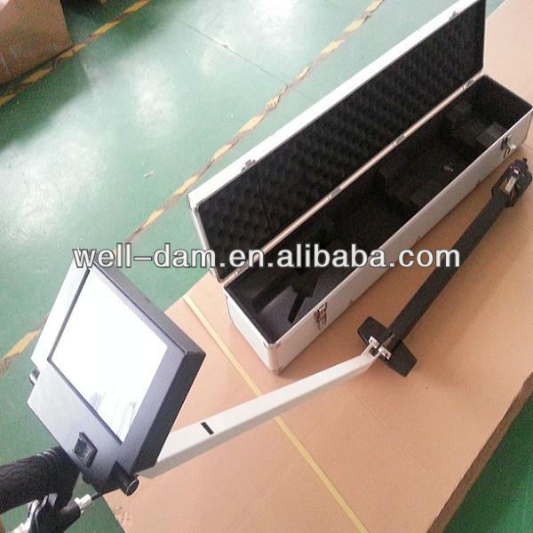 Mobile under vehicle security inspection scanning system / camera