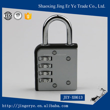 Strengthening anti theft zinc alloy multiple cipher metal lock