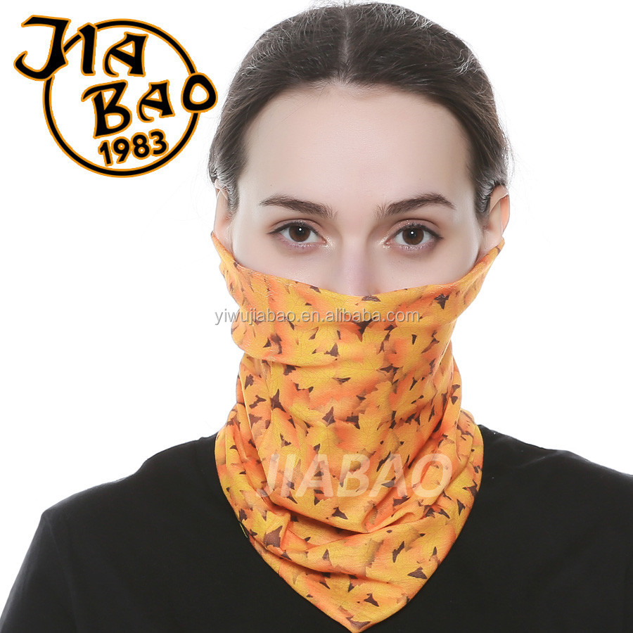 Create Your Own Brand Logo Polyester Tube Custom Neck Gaiter
