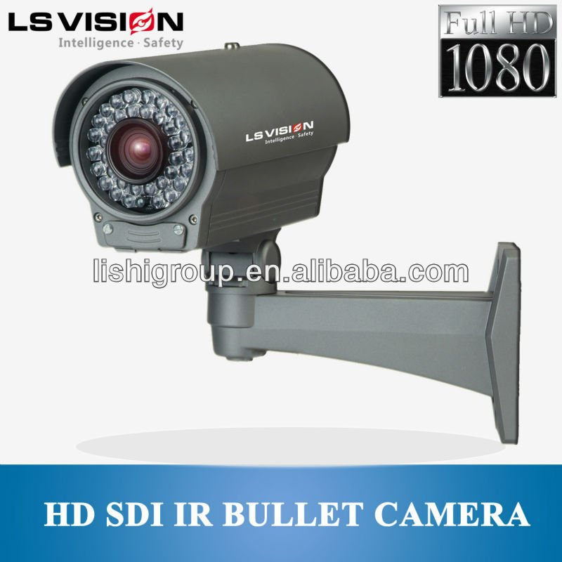 hd sdi ir bullet camera 1080p cctv camera made in China