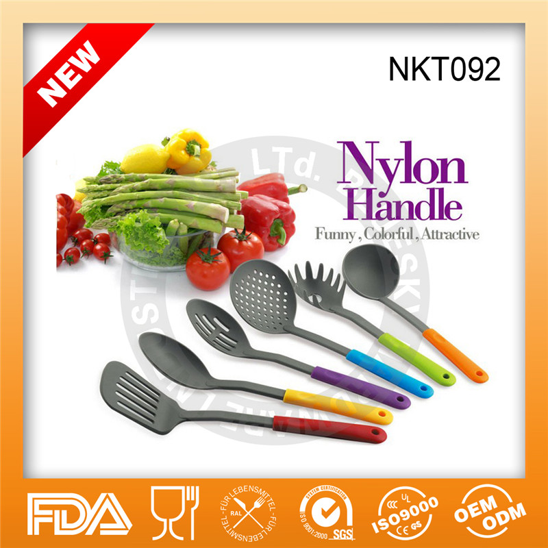 Hot sell Nylon kitchen tools/Household cooking ware/Nylon kitchenware NKT092