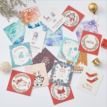 Wholesale Custom Design Printing Paper Craft Christmas Greeting Paper Gift <strong>Cards</strong>