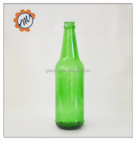 wholesale china supplier empty 330ml green beer glass bottle