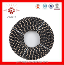 elmas tel testere and diameter 11.5mm Diamond Wire Saw For wire saw machine and Diamond Wire Saw For mermer