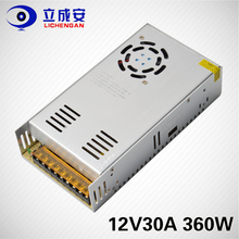 12v 30a 360w switching power supply smps led strip light driver