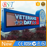 LED messages SMS/USB communication P6-16x128RGB full color LED board/panel/screen/sign/display