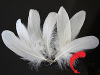 Best sale plume crafts wholesale bulk bleached white goose nagoire loose feathers