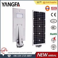 YANGFA day/night sensor led street light solar street light AS01