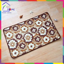 Flower durable antique tapestry car floor mats