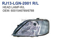 head lamp for RENAULT DACIA LOGAN 04