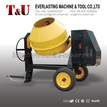 600L electric/gasoline/diesel concrete mixers with cast iron gear ring