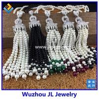 925 Sterling silver jewelry wholesale fashion leopard tassel necklace leopard tassel pendant