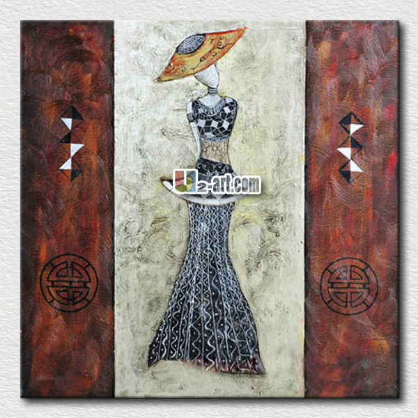 Chinese styles abstract canvas art