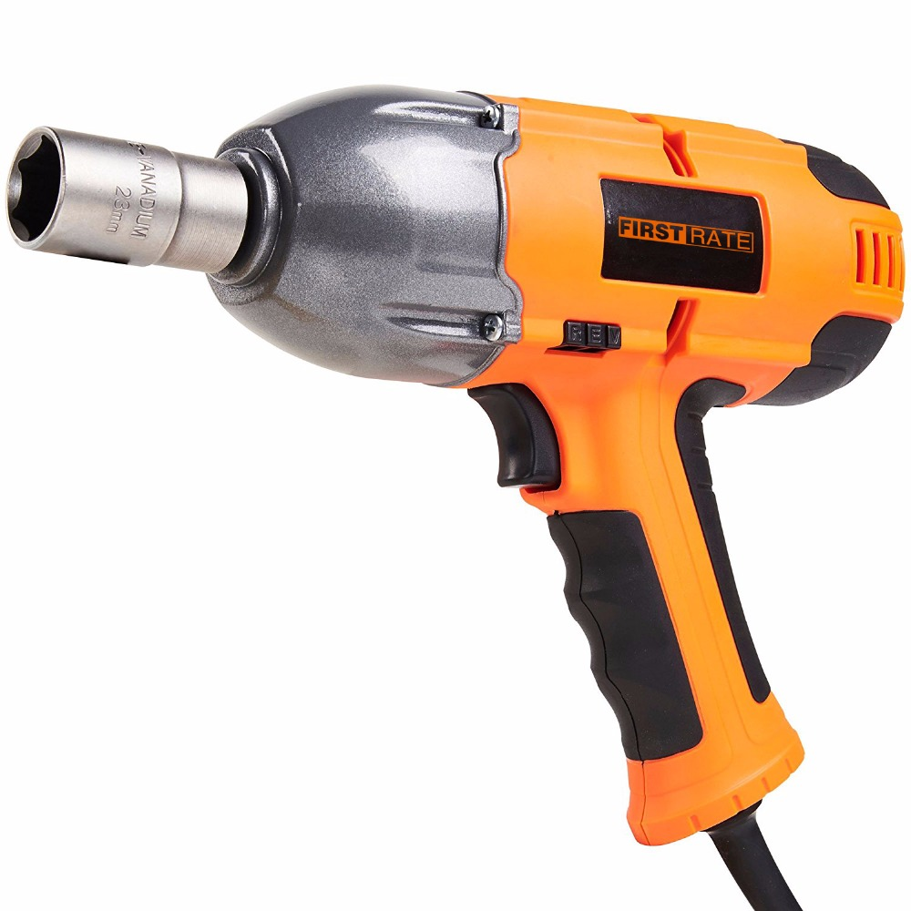 "First Rate Powerful 500N.<strong>m</strong> <strong>1</strong>/2"" Adjustable Torque Electric Impact Wrench"