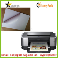 2015 Inkjet laser printer compatible self adhesive label paper a4