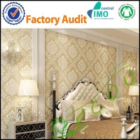 In Stock Eco-friendly Wallpaper Adhesive Luxury Wall Fabric