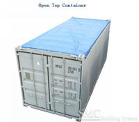 20 Feet & 40 Feet Open Top Container, (With Tarpaulins, Overheight Dry Cargo Shipping Container)