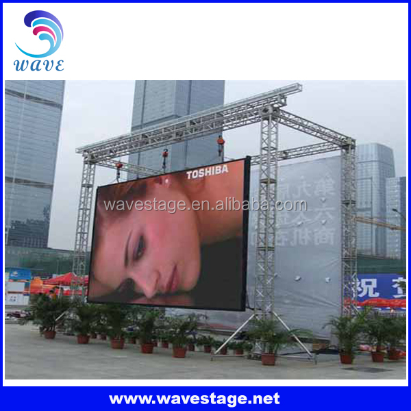 Good Advertising LED Screen aluminum outdoor stage roof truss