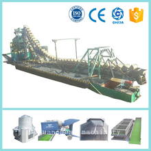 Bucket chain gold dredging boat chinese factory supplier good price
