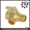 ISO brass bronze centrifugal casting pipe valve