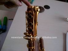 Rosewood Gold plated keys Clarinet