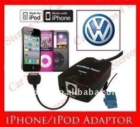 Car music adapter wtih iPod interface + aux in for vw 8 pin(CE approved)