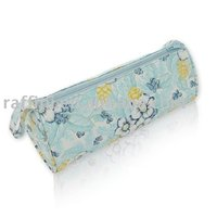 Flower printed make up bag