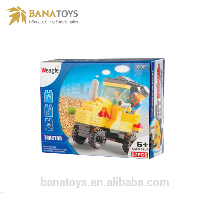 Building Blocks Truck Set