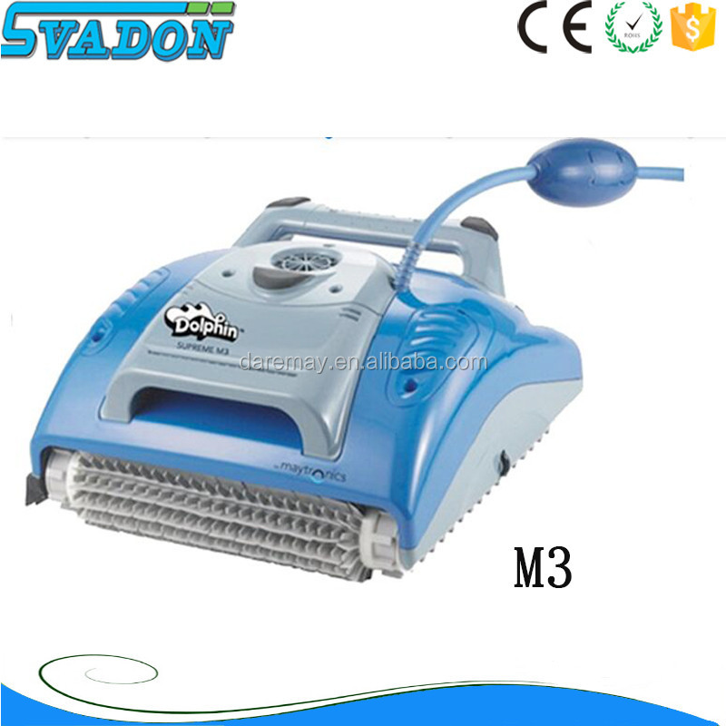 Hot sale Swimming Pool Cleaning Robot, Dolphin Supreme M3 Automatic Pool Cleaning Equipment