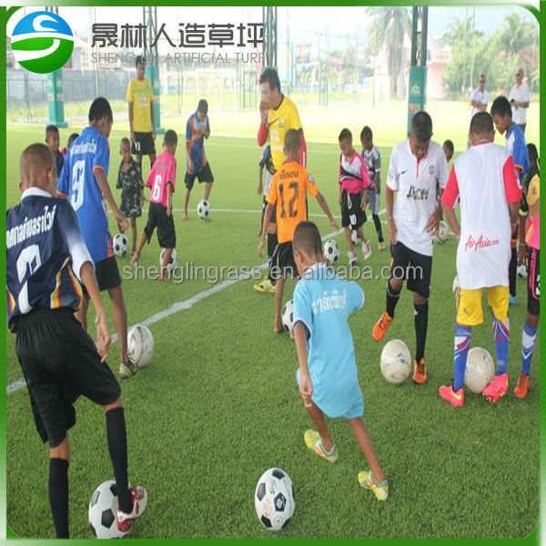 Best Quality and competitive price for 5&7&11 players football pitch of soccer artificial grass