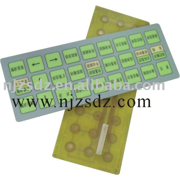 membrane keyboard (Good quality, Good service,low price)Exported to the U.S.