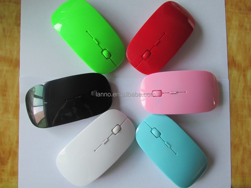 Flat And Slim Mini 2.4G Wireless Optical Mouse