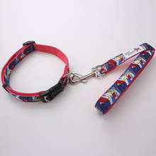 hot sale pet products wholesale custom durable nylon dog collar leash with EU standard