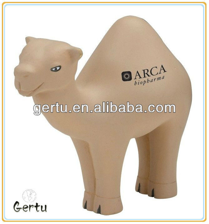 Promotional Animal Camel stress toy/stress balls