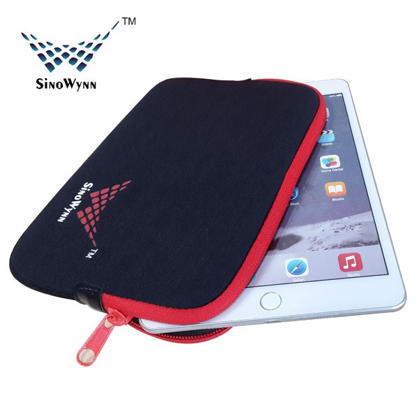 For iPad Mini Case Factory 100% eco-friendly Neoprene Pro Sleeve for iPad Mini 7 inch to 8 inch Pad Sleeve
