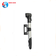 2017 Aluminum football bicycle pump Wholesale new style hand bicycle pump