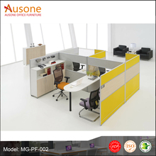 latest office furniture custom made OEM aluminum low partition modern cubicle office modular