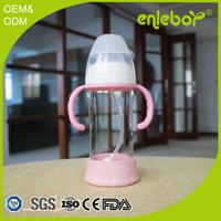 Baby safe glass feeding bottle 9OZ bebe biberon