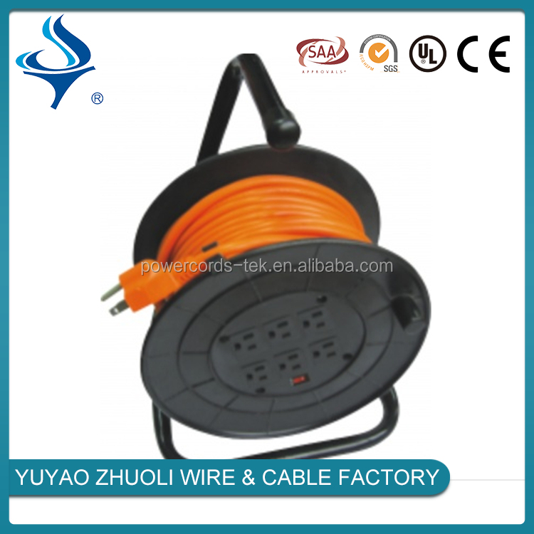 Hot sale automatic spring small retractable cable reel