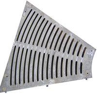 Steel Sidewalk Drain Grate/ Outdoor Drain Grating