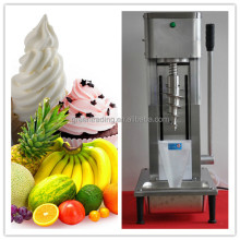 New design fruit ice cream mixer / fruit smoothies mix / cone swirl real fruit yogurt blender