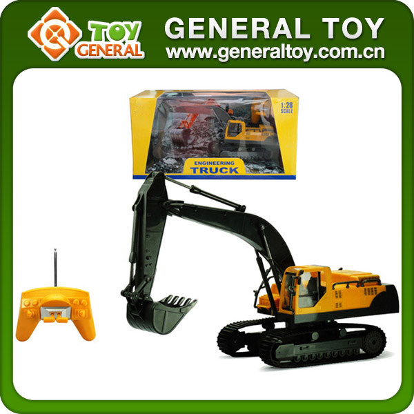 Construction Toys Product : Ch metal rc excavator construction toy trucks