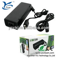professional video game accessories / power supply ac adapter for xbox360 slim game console