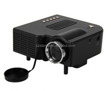 UC28 New Cheap HD home cinema Projector small cheapest led dvd projectors