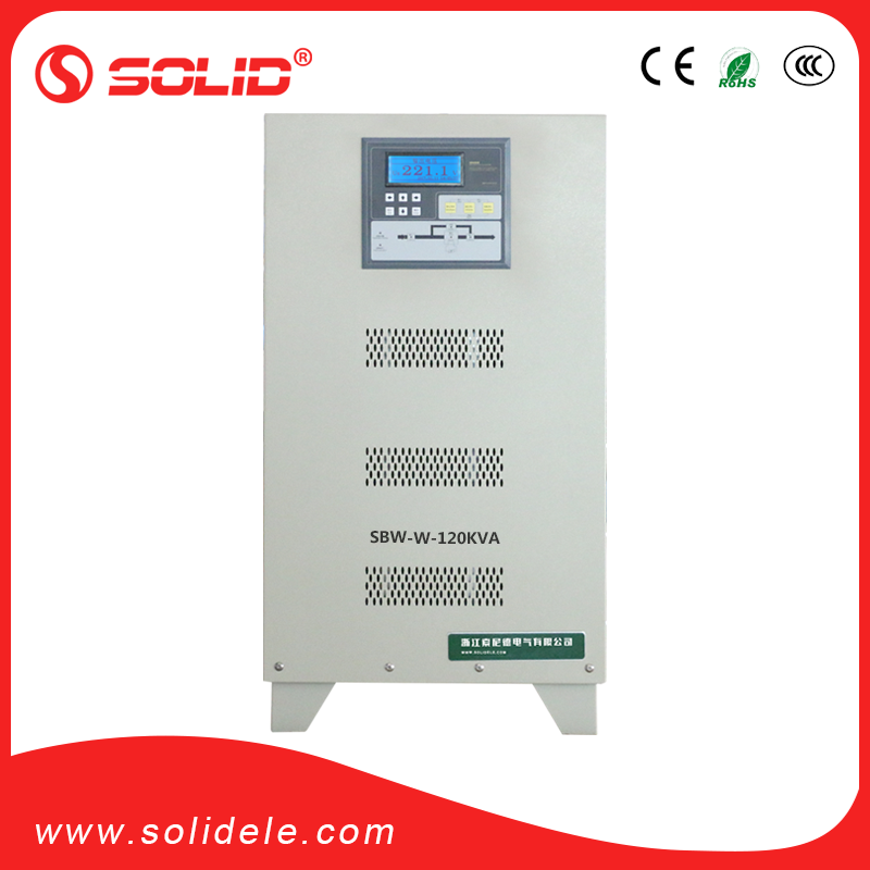 Solid electric igbt automatic voltage stabilizer
