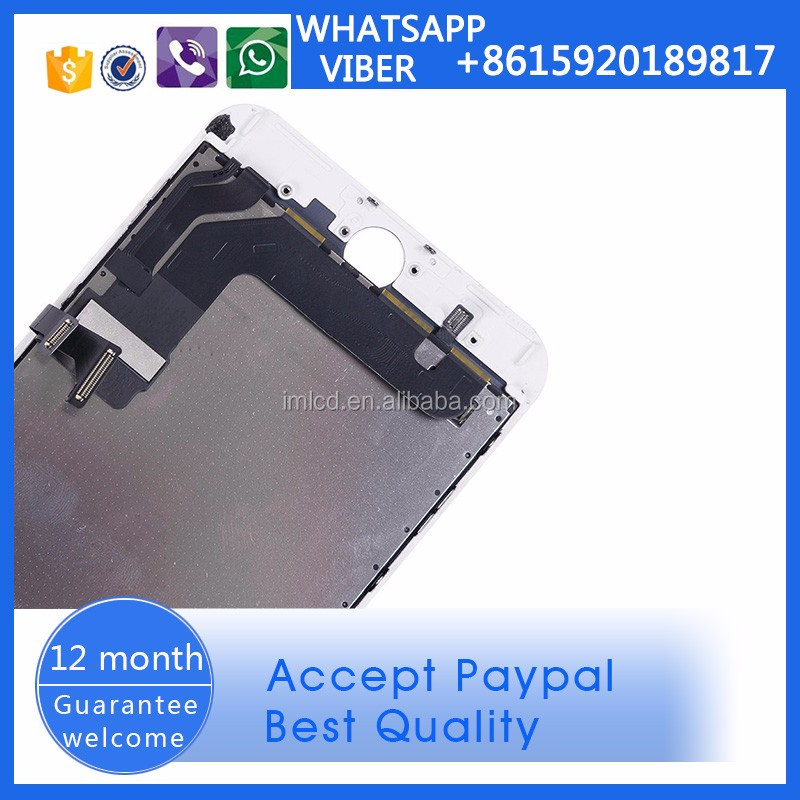 Phone accessories mobile lcd screen repair service for iPhone 7 plus from China alibaba